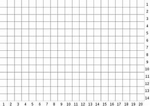 Graphing Coordinate Plane 20x20 | New Calendar Template Site