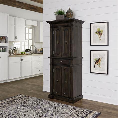 cabinets for kitchen storage home styles hacienda oak walnut food pantry 5077 69 the 5077
