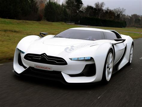 Citroen Gt Concept Futuristic Sporty Designed For Gran