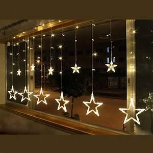 Led Lichterkette Draußen : led lichtervorhang weihnachtsbeleuchtung lichterkette ~ Watch28wear.com Haus und Dekorationen