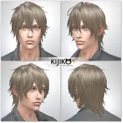 sims  hairs kijiko sims night fog ts edition hairstyle