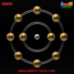 Neon properties of free atoms [WebElements Periodic Table]