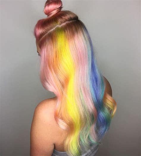 trending pastel hair ideas  swoon