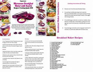 Tupperware Breakfast Maker Recipes And Cooking Guide 2018