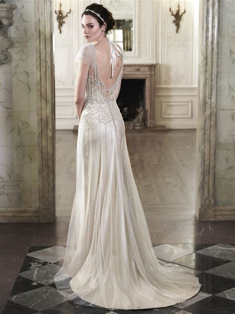 the great gatsby wedding dress great gatsby inspired wedding dresses to fall in with