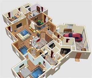 Suite Home 3d : sweet home 3d plans google search house designs ~ Premium-room.com Idées de Décoration