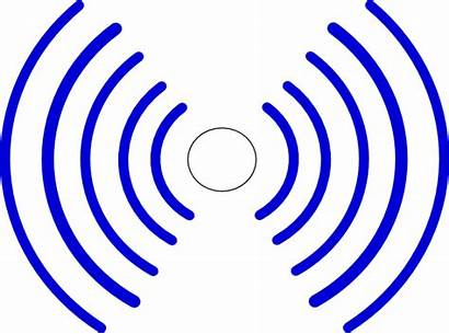 Radio Waves Clip Clipart Signal Effect Clker