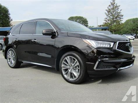 Acura Mdx Tech Package by 2017 Acura Mdx W Tech 4dr Suv W Technology Package For