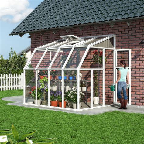 rion sun lounge lean  greenhouse hobby greenhouse kits