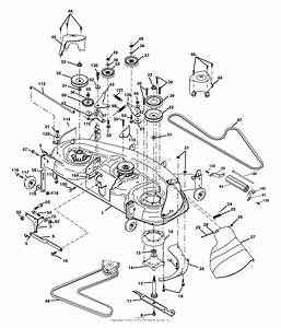 Ayp  Electrolux Pd20ph48sta  2003  Parts Diagram For Mower Deck
