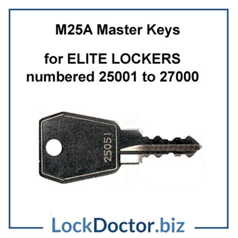 bisley filing cabinet master key m25a master key for bisley elite lockers 25001 27000