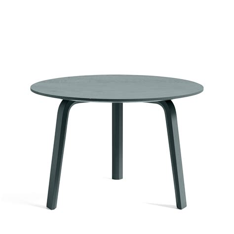 These low round tables are ethically handcrafted, with natural rattan from sustainable resources and. BELLA coffee table - ø 60 - Green - HAY