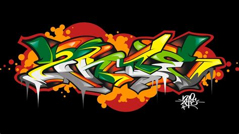 Graffiti Speed Drawing Illustrator