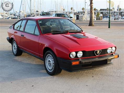 Classic 1983 Alfa Romeo Gtv6 Coupe For Sale #524