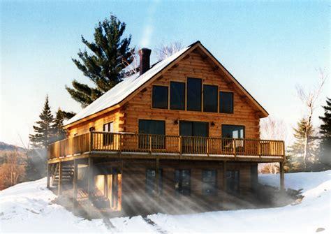 Alpine Log Home Plan by Coventry Log Homes, Inc