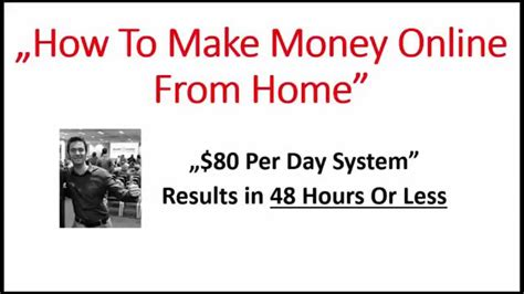 earn money 50 per day how to make money from home 80 per day