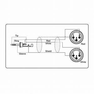 adapter kabel 35 mm minijack stereo til 2 x xlr han kb With wiring xlr to phono