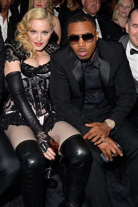 She sat next to Nas during the show.   Rockabilly girl ...
