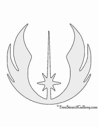 Jedi Wars Symbol Stencil Star Order Stencils