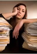 Overwhelmed Office Wor...