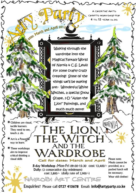 Printables The Lion The Witch And The Wardrobe Worksheets