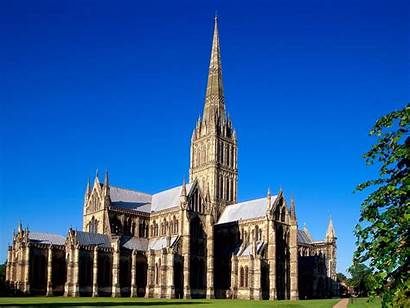 Wiltshire Salisbury Cathedral England Wallpapers Churches Desktopgoodies