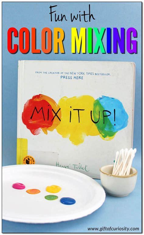 fun  color mixing secondary color color mixing