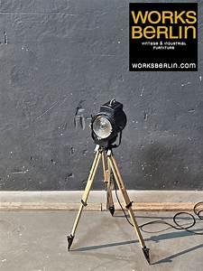 Vintage Lampen Berlin : filmscheinwerfer works berlin restauriert und verkauft original vintage industriedesign ~ Markanthonyermac.com Haus und Dekorationen