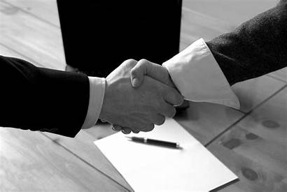 Business Buying Selling Attorney Hands Shaking Hand