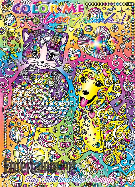 lisa frank coloring books see the four color me lisa