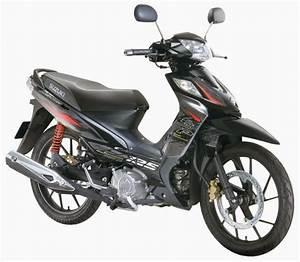Spesifikasi Suzuki Shogun 125 Sp