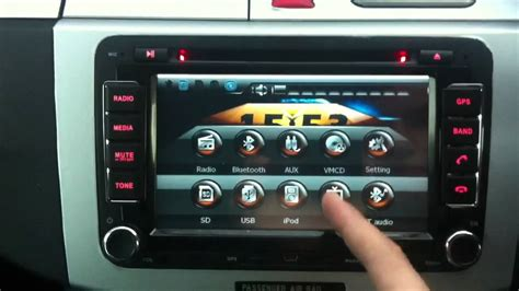 auto air conditioning repair 2009 volkswagen touareg navigation system vw sat nav rns510 replica youtube