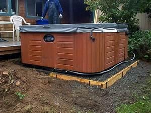 Versigrid U2122 Hot Tub Base Installation