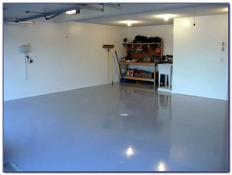 Speckled Paint For Garage Floors   Flooring : Home Design