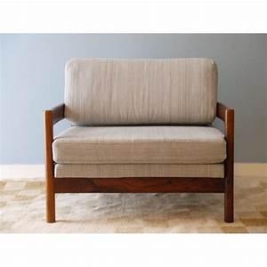 Fauteuil Vintage Scandinave : fauteuil design scandinave vintage palissandre la maison ~ Dode.kayakingforconservation.com Idées de Décoration
