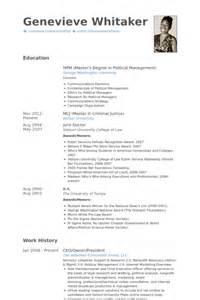 owner president resume sles visualcv resume sles