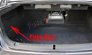 Fuse Box Diagram Pontiac G8  2008