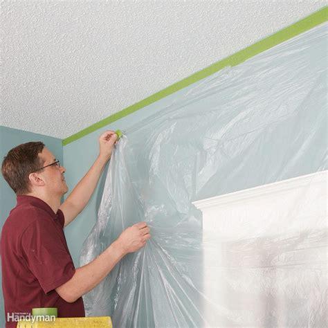 tips    remove popcorn ceiling faster  easier