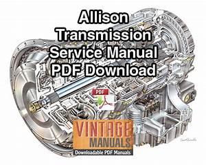 Allison Tt  Ttb  Trt 2001 Series Powershift Transmission