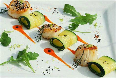 dressage des plats en cuisine décoration assiette cuisine gastronomique