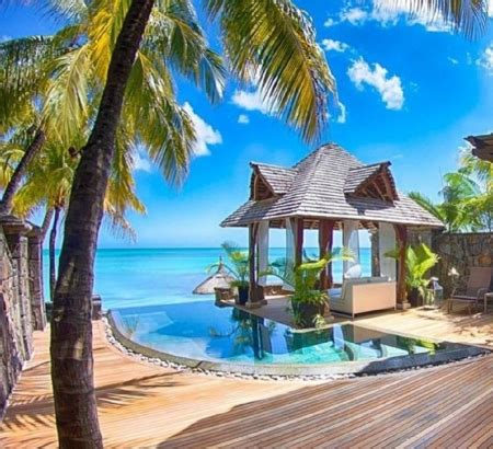 tropical resort beaches nature background wallpapers