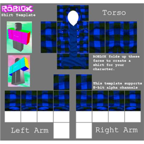 roblox template transparent shirttemplate roblox