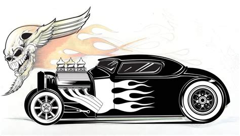 cool hot rod coloring pages latest illustration dap