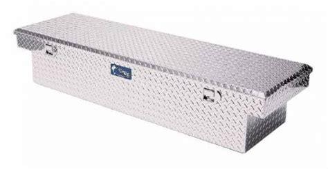 uws truck tool box      aluminum diamond plate single lid extra wide