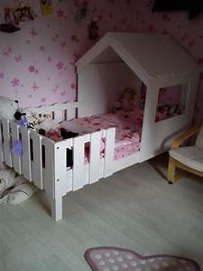 Cabane Lit Enfant : lit enfant cabane swam blanc ~ Melissatoandfro.com Idées de Décoration