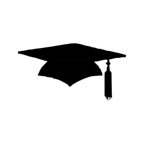 graduation cap vinyl sticker