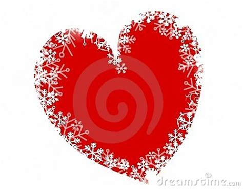 christmas snowflake heart love royalty  stock photo