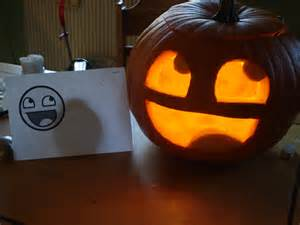 Halloween Faces For Pumpkins Carving by Happy Face Plz Pumpkin By Ladysira On Deviantart