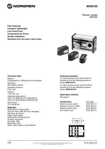 Cilindri compatti - Norgren - Catalogo PDF