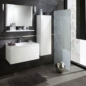 lapeyre decouvrez les nouveautes salle de bain glossy de With salle de bain design avec petit meuble de salle de bain blanc